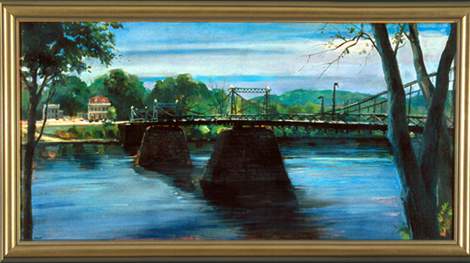 River Bridge, Riegelsville, Bucks County
